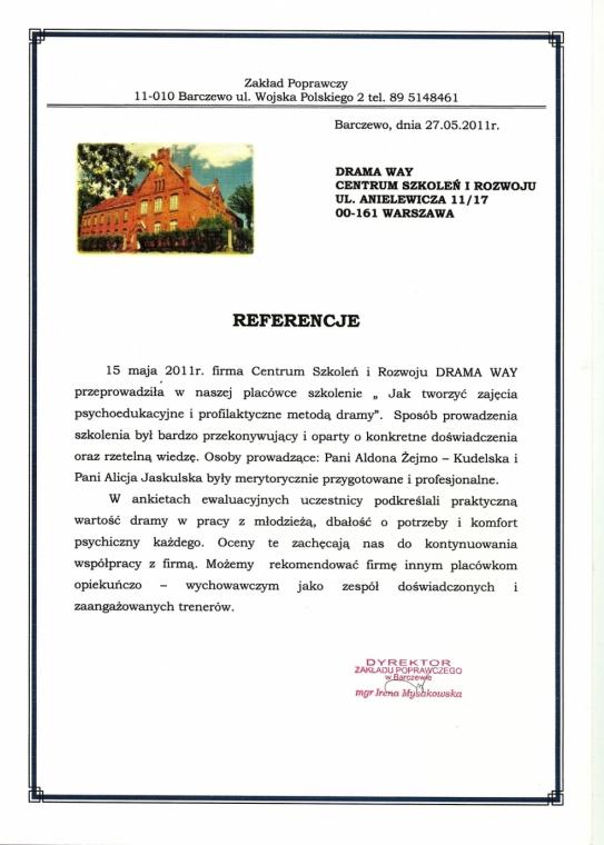 Zakład Poprawczy w Barczewie